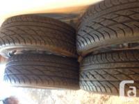 Near new Goodyear Eagle GT all season 97V 225/55R17 .