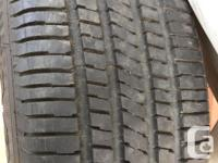 Like new condition no repairs or leaks. 225/60R16
