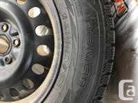 set of 4 - Nokian Hakkapelliita r2 SUV winter tires on
