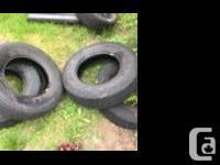 2 tires at 7/32 thread 2 tires at 6/32 thread 225/75r16