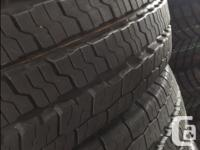 225/75R16 Nexen Roadian CT8 10 ply all season tires.