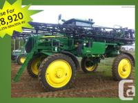 4730 2010 John Deere 4730, Self-Propelled Sprayers, 800