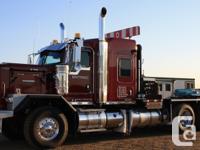 2014 KENWORTH C500, 113300 mis, Tri Drive Winch Tractor