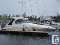 This lightly pre-owned, fresh water 390 Sea Ray
