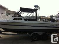 1988 CAMPION 22FT FISHING BOAT FOR SALE 8FT