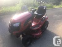 "Craftsman YT3500 42"" V-Twin Auto Ride On Lawn Tractor"