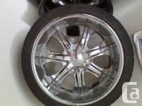 I got a set of four 22inch rims great shape No