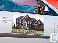 """Expert 23"""" x 12"""" car door magnets, published completely"""