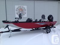2016 Crestliner seventeen Storm Powered by a 60