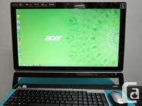 23 Acer All-in-One Computer Touchscreen Intel Dual Core