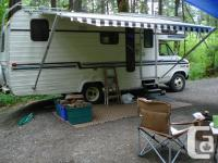 23 foot 1983 Glendale Recreational Vehicle. Excellent