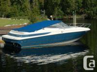 Great fishing boat or cruiser.  1997 Maxum 2300sc ,