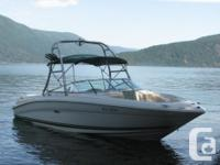 2001 Sea Ray less than 200 hours extremely well looked