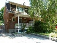 Available July 1 Charming 2 Bedroom Semi Detached In