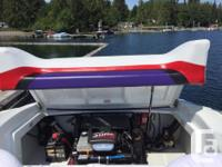 23 foot Baja Boss 496 HO Mag, 425 HP motor 220 original