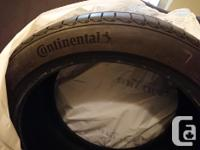 Full set of 4 square tires Less than 6000km Used for 4