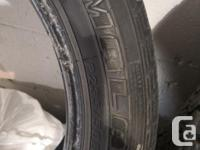 Set of 4 Federal Himalaya Winter tires. 235 50R16.