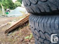 235/75/r15 tires. Michelin LTX A/T tires. 30 % left.