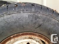 No leaks or holes- both tires hold air. Rims are the