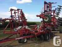 1996 Morris 7180 Air Drill, Exterior: Red, 34' air
