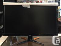 """We have a 144 hertz LED 24"""" Acer Monitor! It is a 144"""