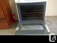 "Gently used gas GE stove as shown. 24"" wide Very good"