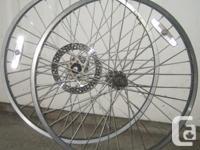 "24"" rims-rear disc, front rim-disc, front reg.and rear"