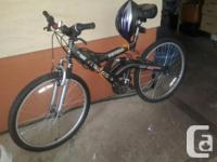 Vertical Arashi 21 speed indexed mountain bike with