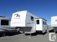 A great sized bunk model fifth Wheel in very nice