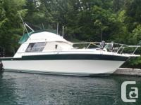 This fresh water-only Silverton 34 Convertible is the
