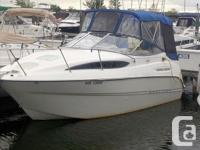 The 245 Bayliner is 1 of the most popular models.