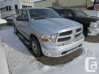 Description: 2012 Dodge Ram 1500 SLT Crew Cab, 5.7L