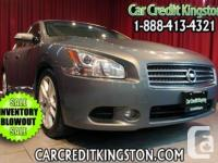 2012 Nissan Maxima 3.5 SV CVT – Drive in Style