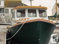 Initially a 1993 Rosborough 24 foot sporting activity