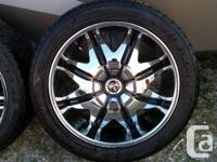 "The Dub rims are 24"" Dub Chrome Doggy-Style GM 8 Bolt"