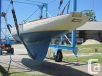 Classic Canadian-made McVay Bluenose (1977) 24 foot