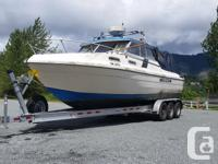 24 foot Sea Ray boat for sale. 5.7 mercury cruiser,