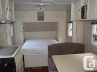 Travel trailer in good condition. New 30 lb. propane