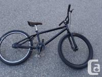 2012 Free Agent Proportion BMX. Level black colour.