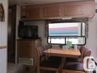 JUST LIKE NEW ,I JUST BOUGHT THIS FIFTH WHEEL AND IT
