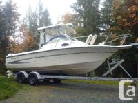 2006 boat with all the bells. Amazing fishing boat with