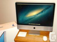 "24"" iMac, Intel Core 2 Duo, 2.8GHz, 500GB Hard Disk,"
