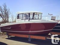 Very much a fishing boat with a comfortable wheelhouse,
