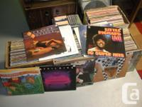 Have for sale 4 boxes-240 Records approx. Mostly rock,