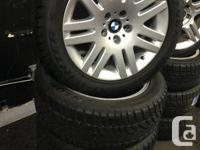 """18"""" WINTER PACKAGE FOR BMW 6 & 7 SERIES USED 1 SEASON"""