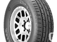 SET OF 4 EXCELLENT ALL SEASON SUV TRUCK TIRES. GOOD