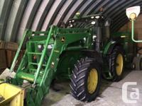 7215R 2011 John Deere 7215R, Row Crop Tractors, 20sp CQ
