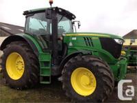6210R 2013 John Deere 6210R, Row Crop Tractors, IVT,
