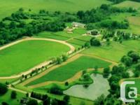 This terrific 116 acre equine farm is an absolute