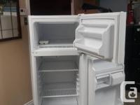 "One  clean and working 24"" Admiral fridge for sale,"
